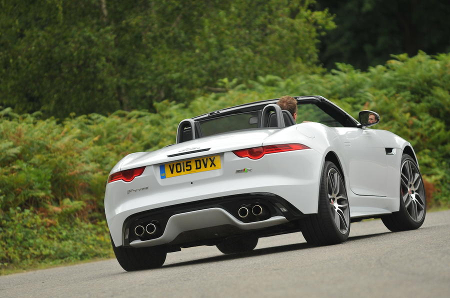 Nice ... Jaguar F Type R Convertible Rear ...