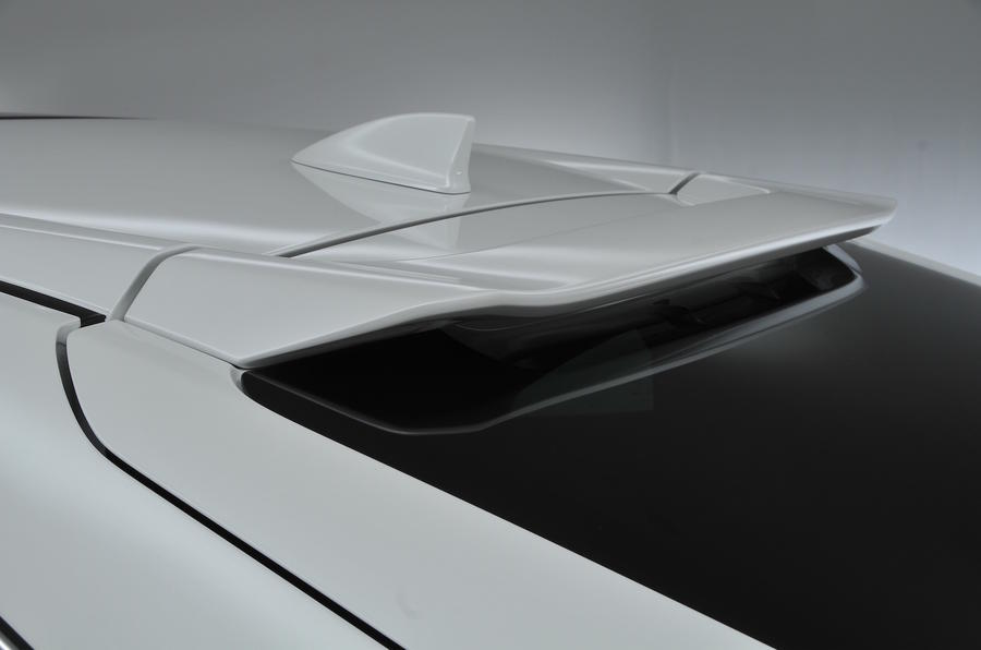 Honda Civic rear spoiler