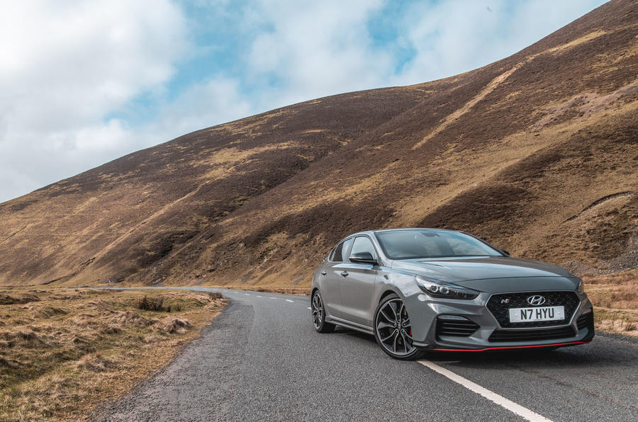 Hyundai i30 Fastback N drives the South West Coastal 300