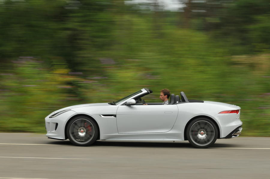 £97,145 Jaguar F-type R Convertible AWD