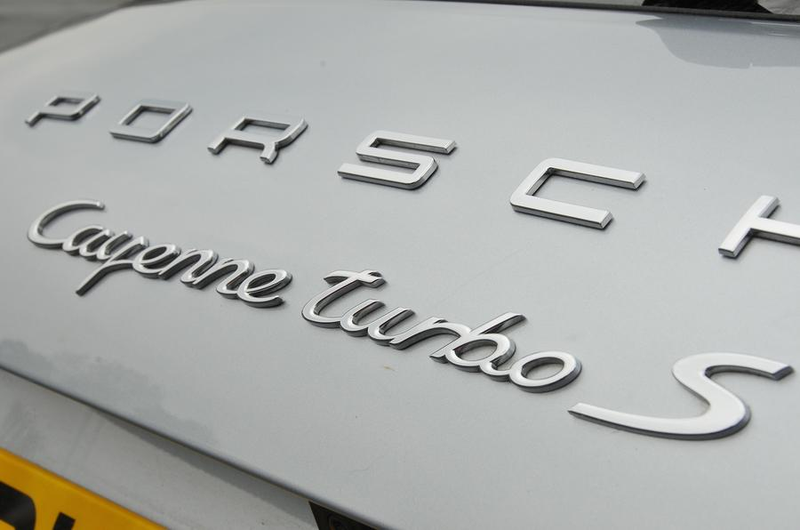 Porsche Turbo S badging