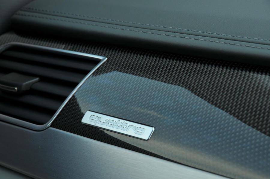 Audi Quattro badging