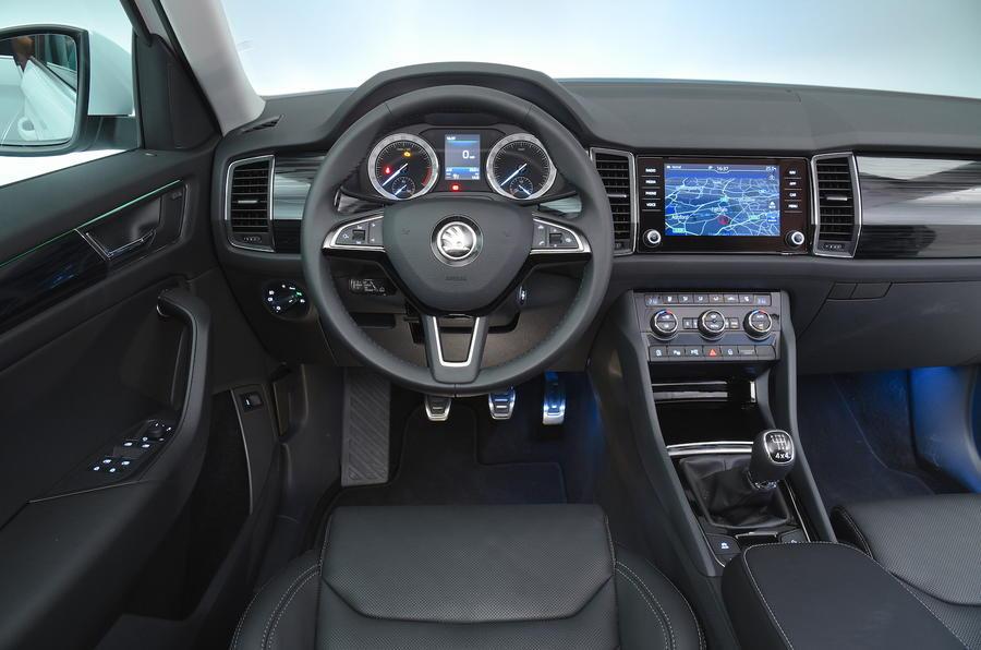 2017 Land Rover Discovery Interior >> 2017 Skoda Kodiaq 2.0 TDI 150 4x4 Edition review review   Autocar