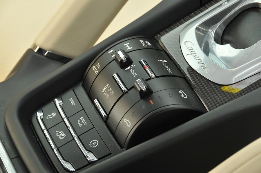 Porsche Cayenne dynamic control