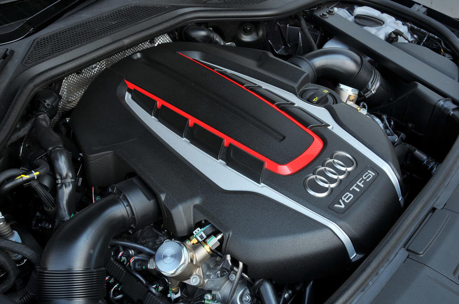 4.0-litre V8 Audi S8 Plus engine