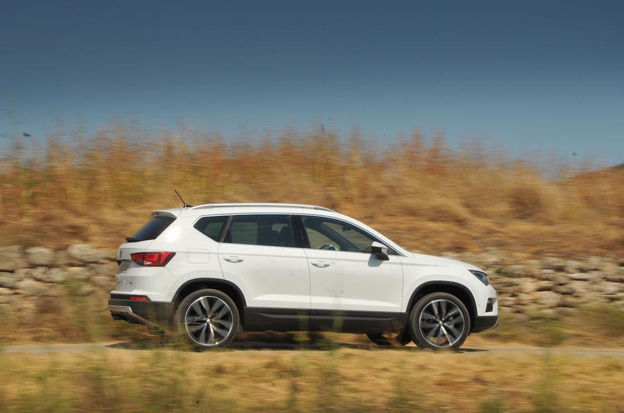 Seat Ateca side profile