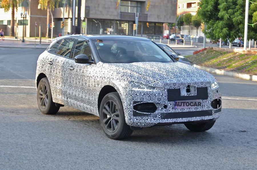 New Jaguar F-Pace facelift seen testing ahead of 2020 release