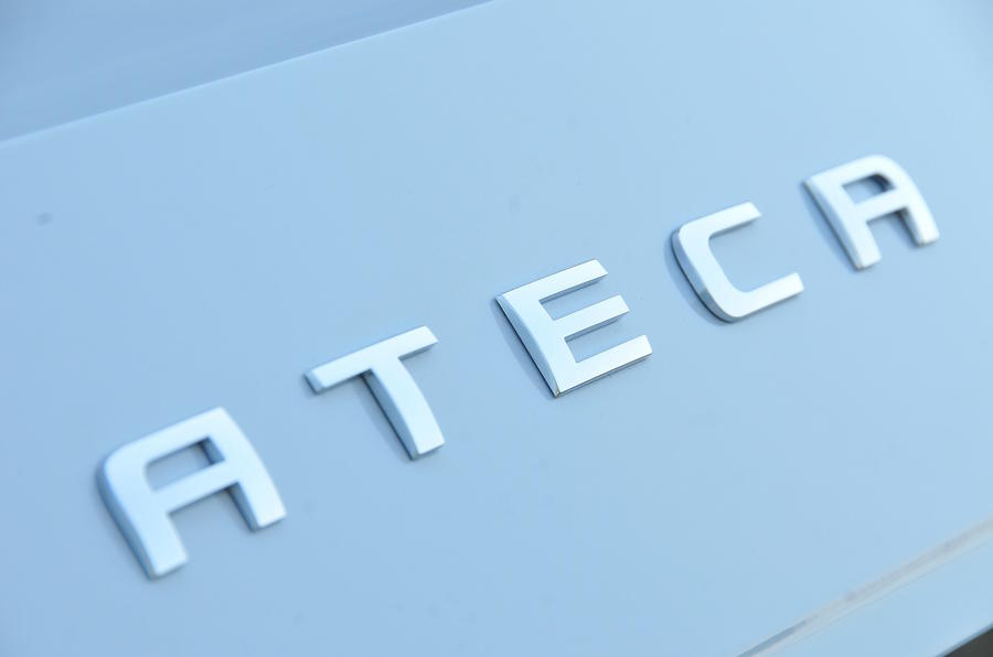 Seat Ateca badging