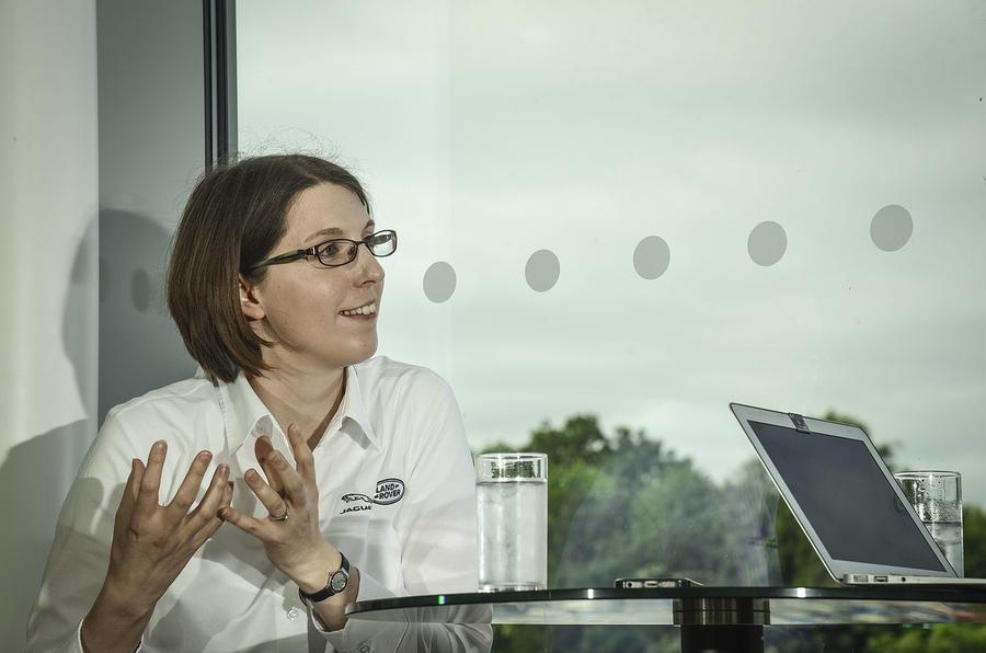 Amy Rimmer Jaguar Land Rover autonomous engineer