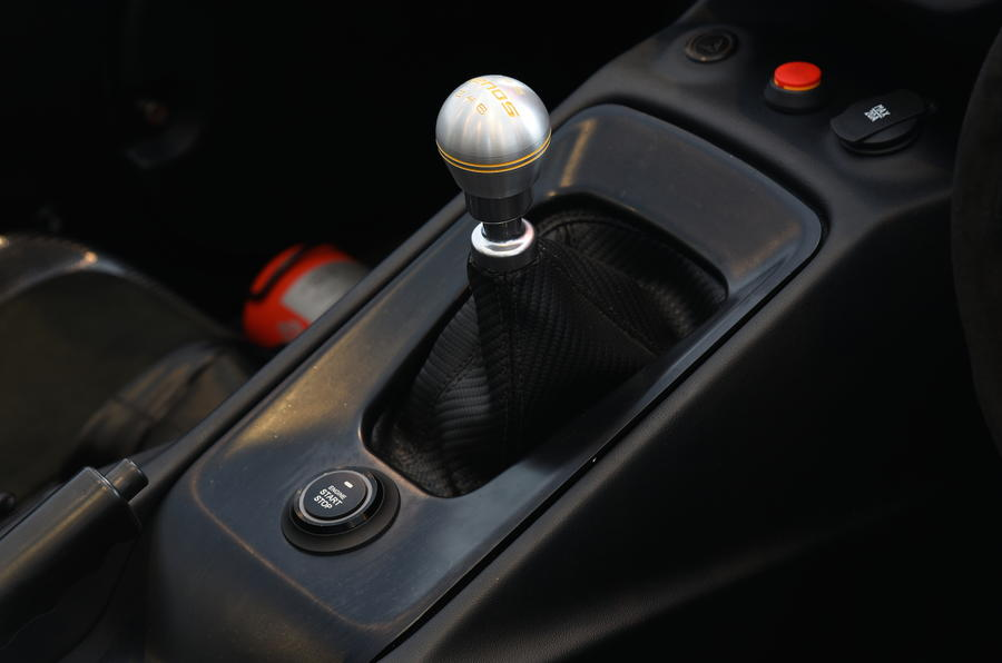 Zenos E10 R manual gearbox