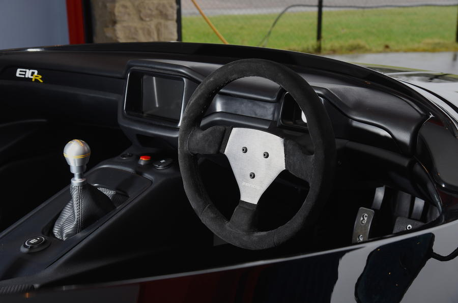 Zenos E10 R dashboard