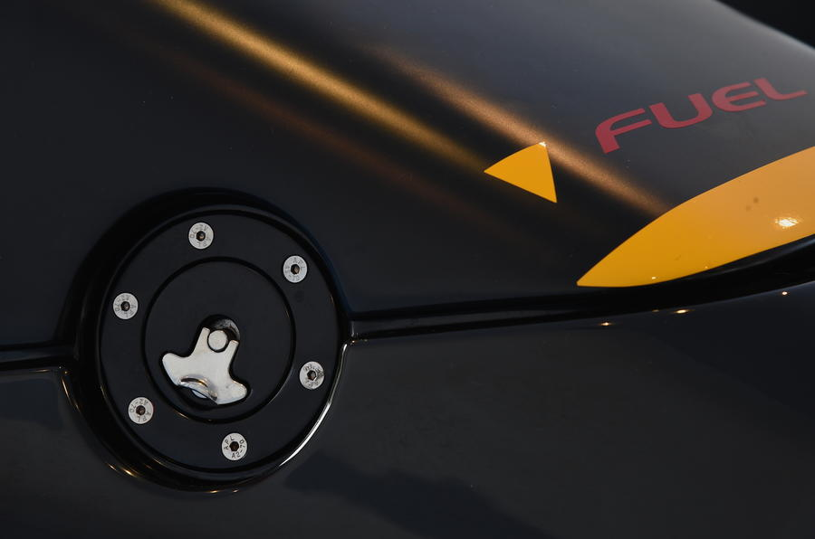 Zenos E10 R fuel filler cap