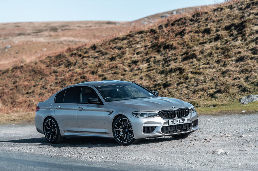 2018 BMW M5 Competition front 3/4
