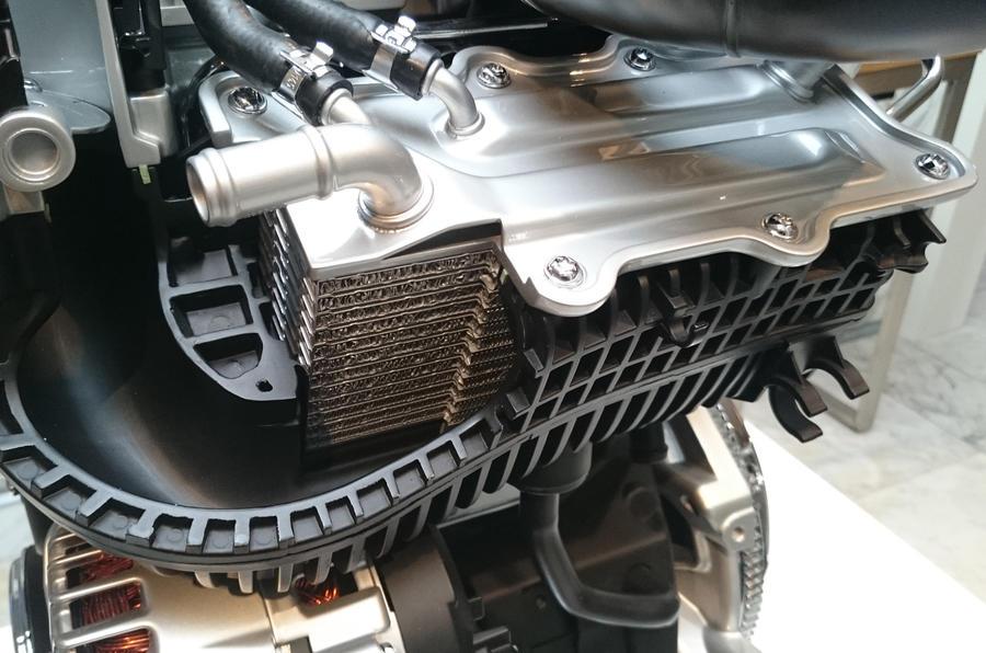 Volkswagen Golf Bluemotion intercooler