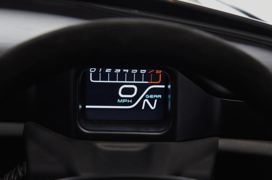 Zenos E10 R speedo