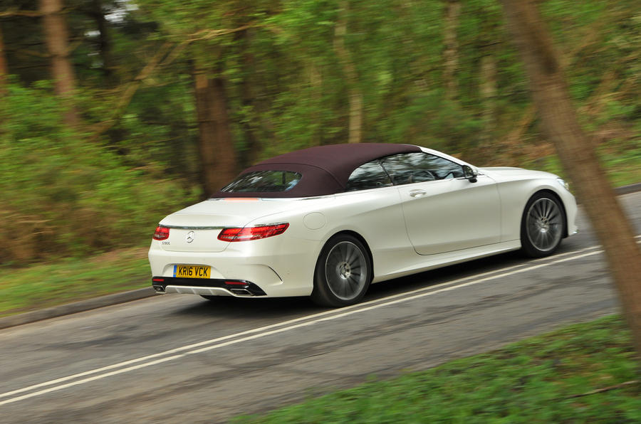 Mercedes-Benz S500 Cabriolet rear