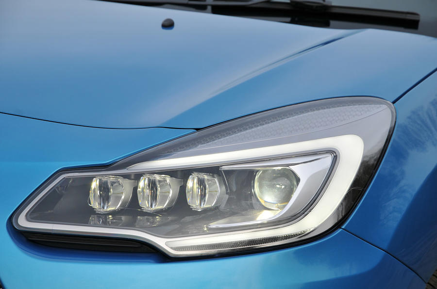 Citroën DS 3 LED headlights