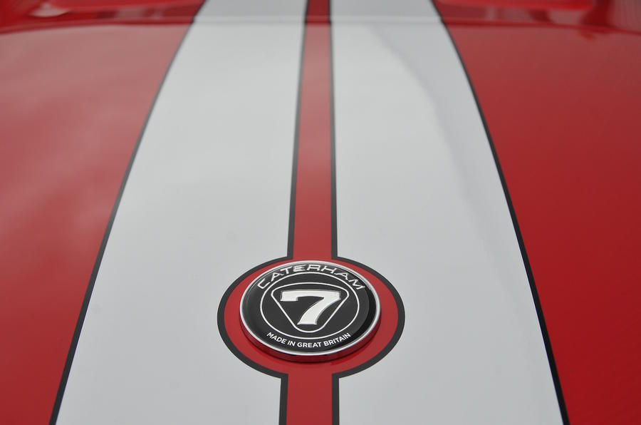 Caterham Seven badge