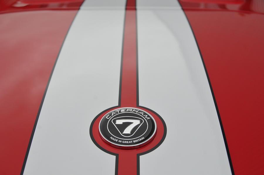 Caterham Seven badge