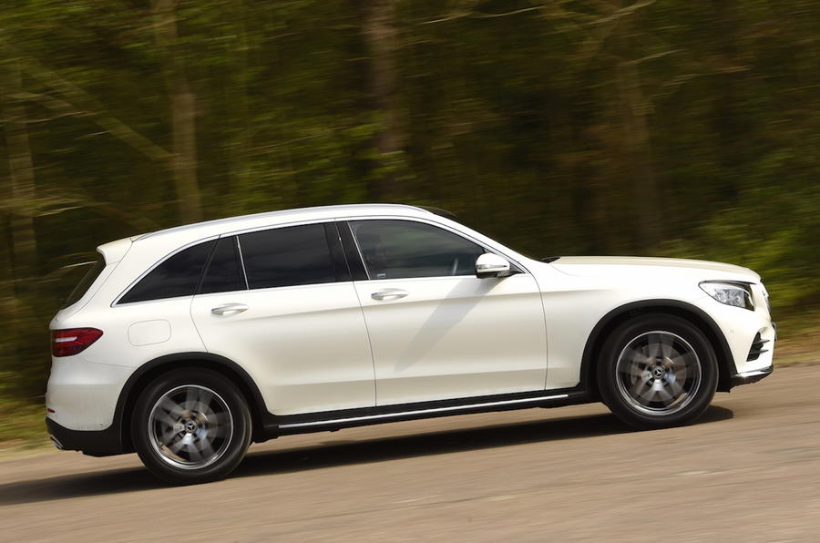 Mercedes-Benz GLC side profile