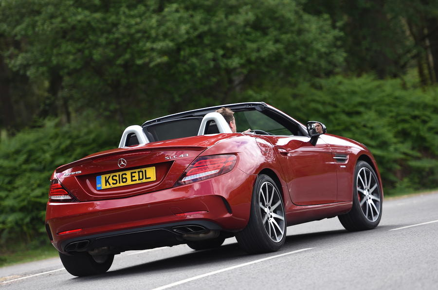 Mercedes-AMG SLC 43 rear