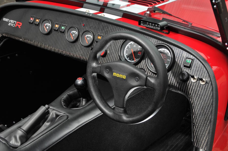 Caterham Seven 310 R dashboard