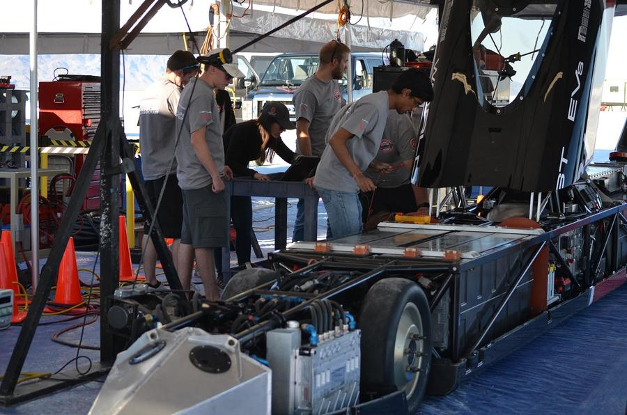 Meeting the team behind the electric land speed record-holder