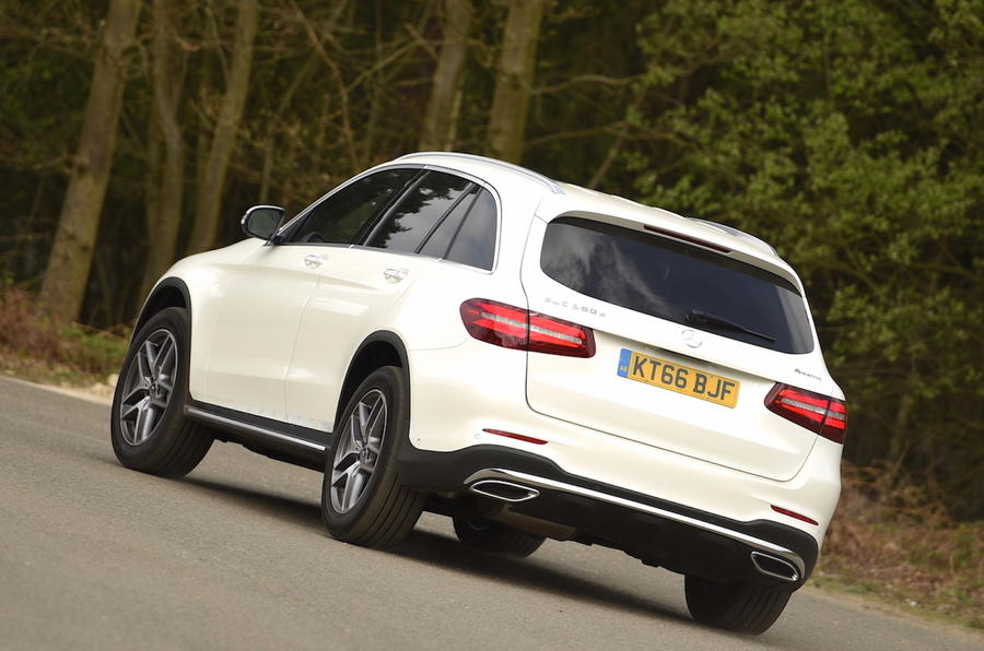 Mercedes-Benz GLC rear cornering