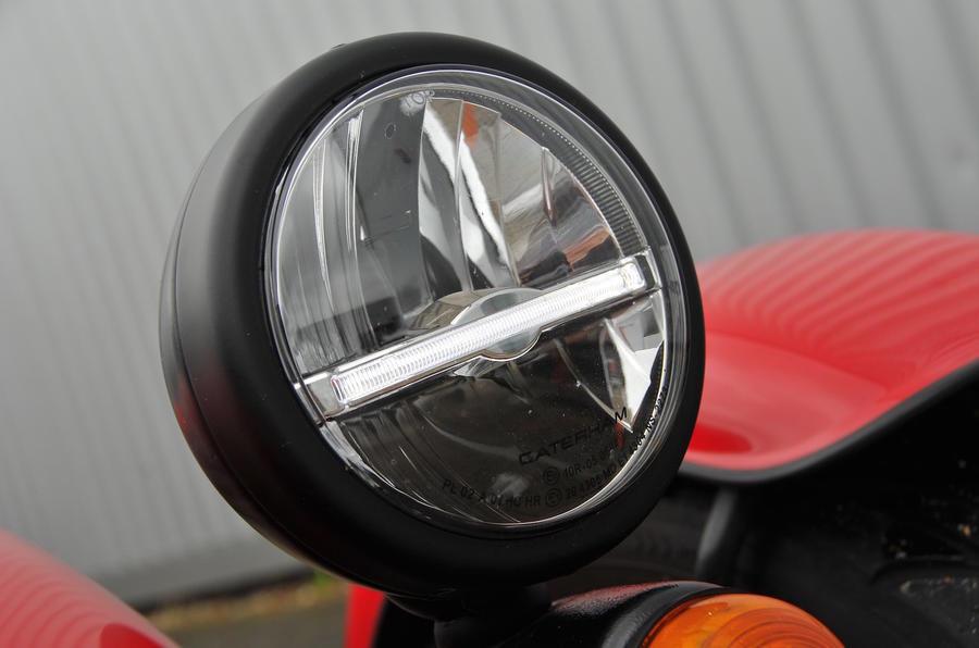 Caterham Seven 310 R headlights