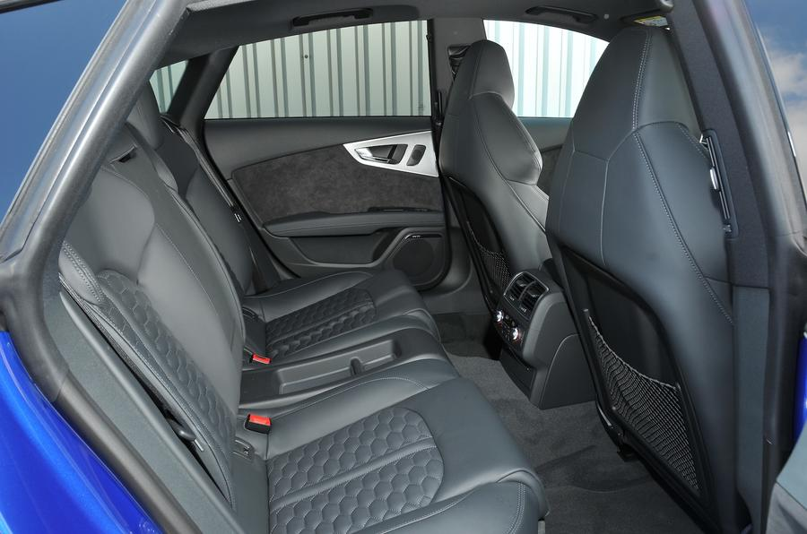 Audi RS7 Performance rear seats