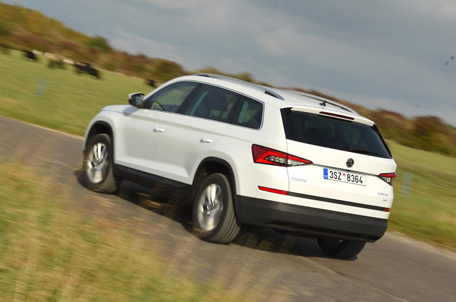 2017 skoda kodiaq 2 0 tdi 150 4x4 edition review review autocar. Black Bedroom Furniture Sets. Home Design Ideas