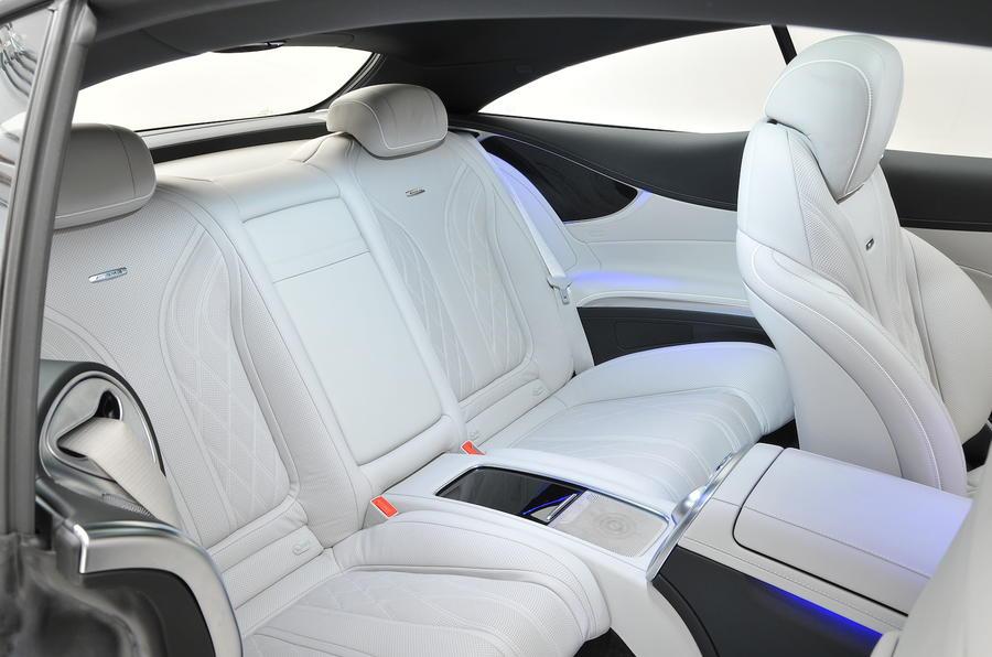 Interior Of  Mercedes S Class