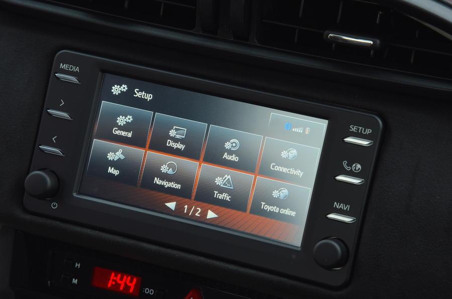 Toyota GT86 Infotainment