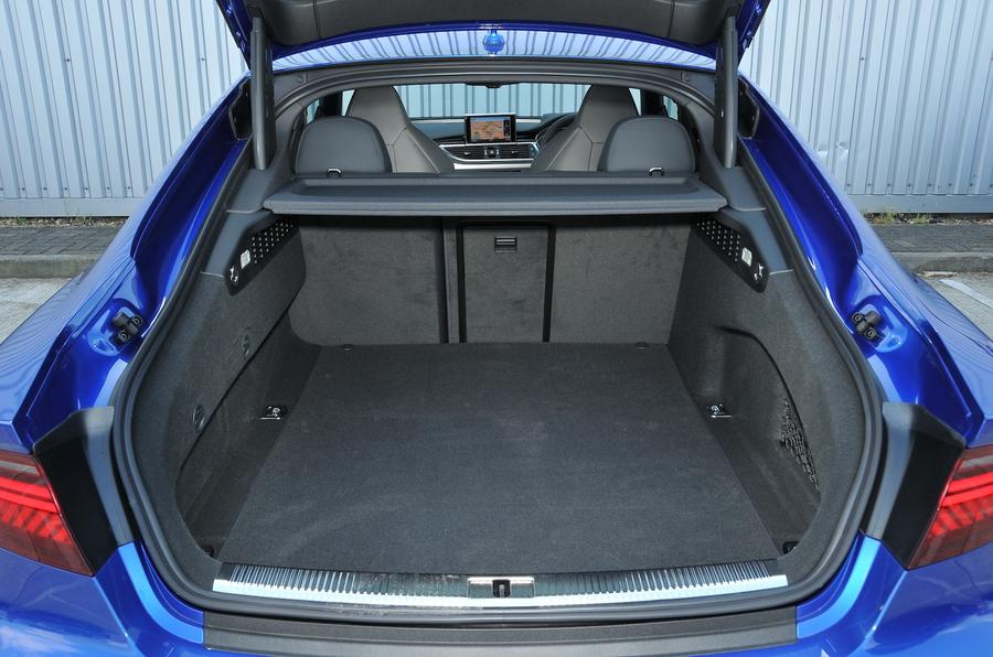 Audi RS7 Performance boot space