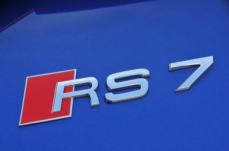 Audi RS7 badging