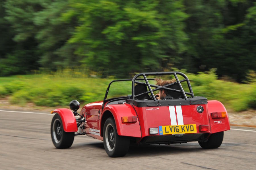 Caterham Seven 310 R rear quarter