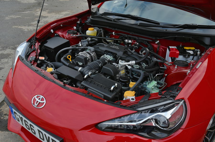 Toyota GT86 Engine Bay