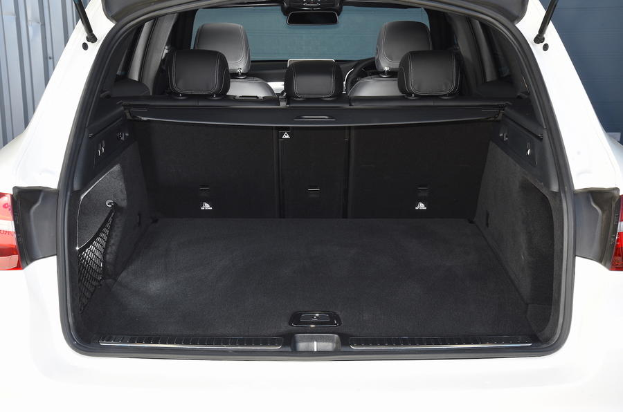 Mercedes-Benz GLC boot space