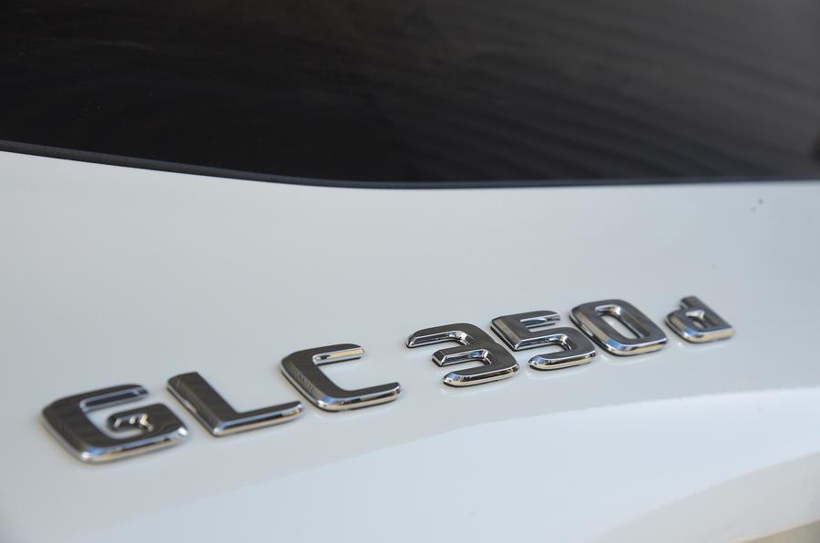 Mercedes-Benz GLC 350 d badging