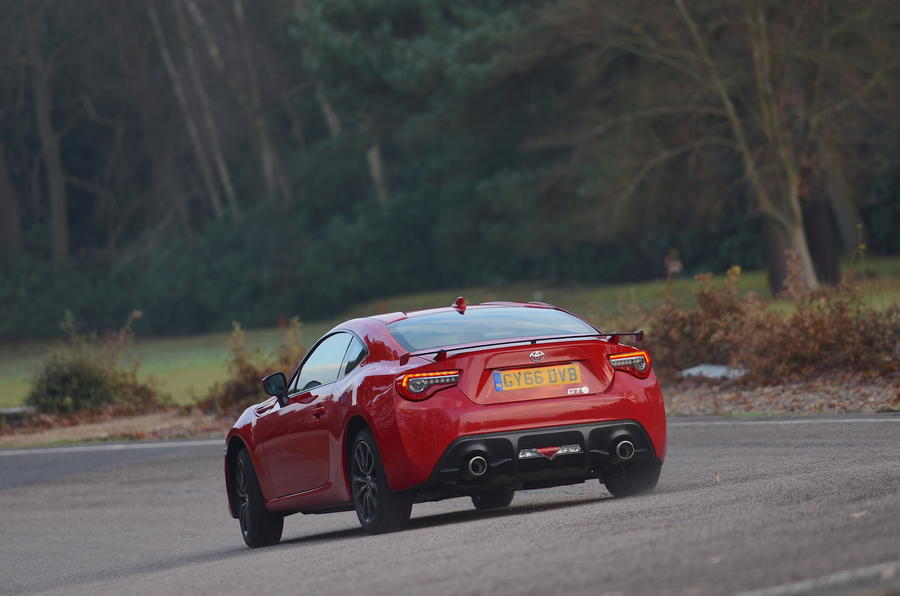 Toyota GT86 Action Rear