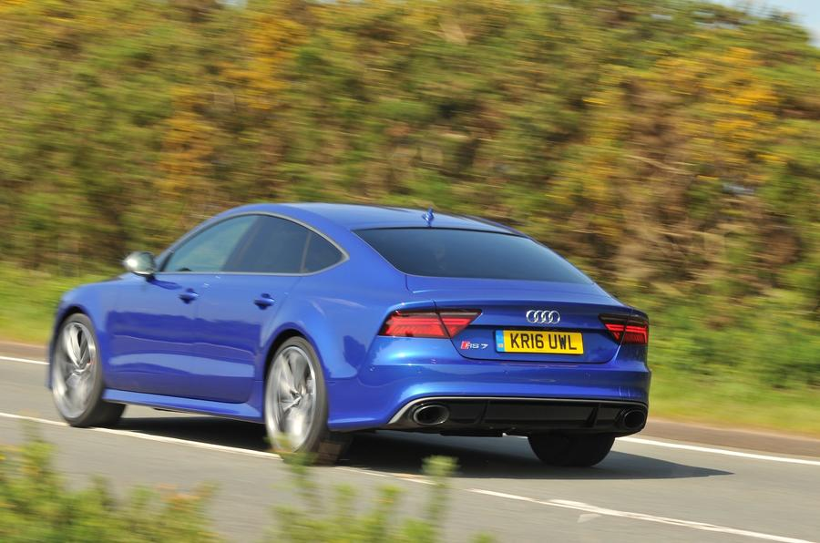 155mph Audi RS7 Performance