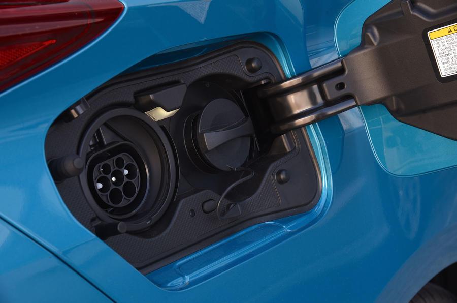 Toyota Prius Plug-in charging port