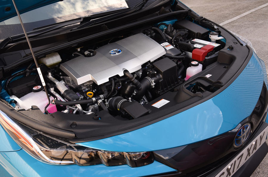 Toyota Prius Plug-in hybrid engine bay