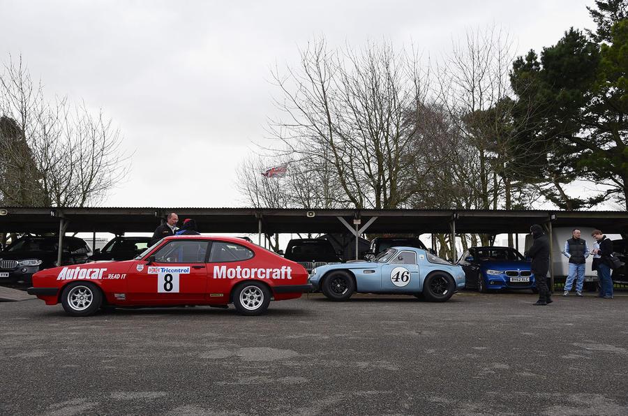 Gordon Spice Racing Ford Capri