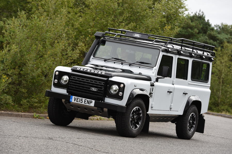 2015 land rover defender 110 adventure uk review review autocar. Black Bedroom Furniture Sets. Home Design Ideas