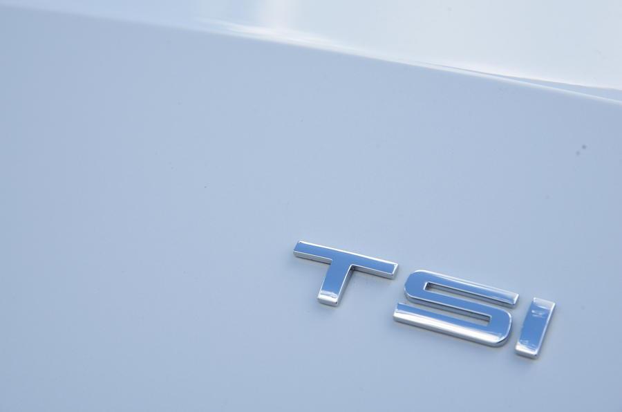 Seat Ateca TSI badging