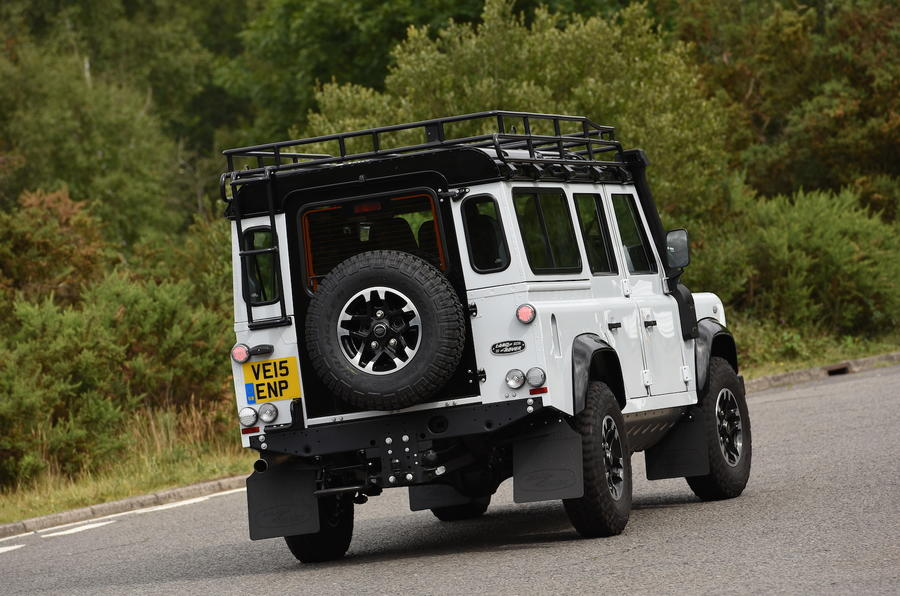 Land Rover Defender 110 rear