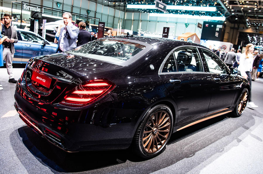 Mercedes-AMG S65 Final Edition Geneva 2019 - hero rear