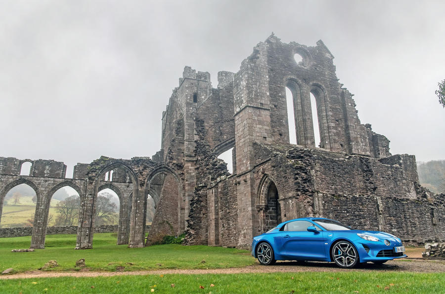 Alpine A110 Llanthony Priory