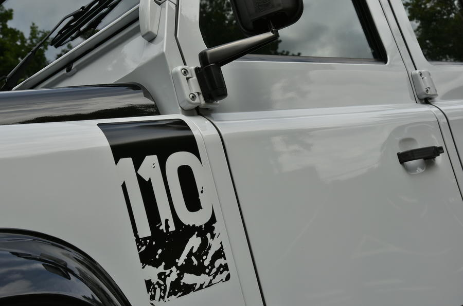 Land Rover Defender 110 Adventure decals